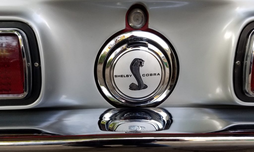 1968 Cobra Pop Open gas cap
